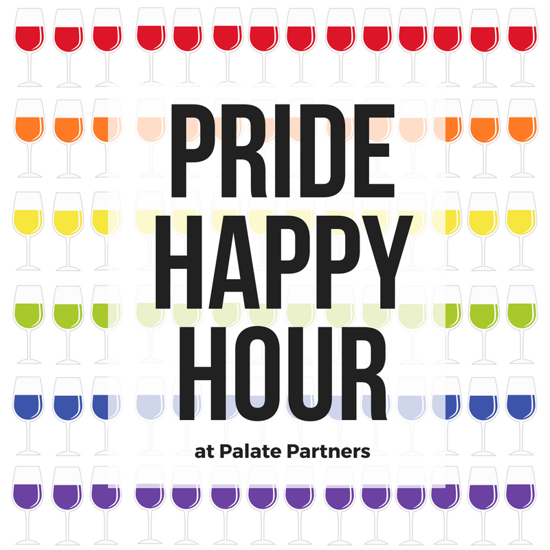 Palate Partners Pride Happy Hour